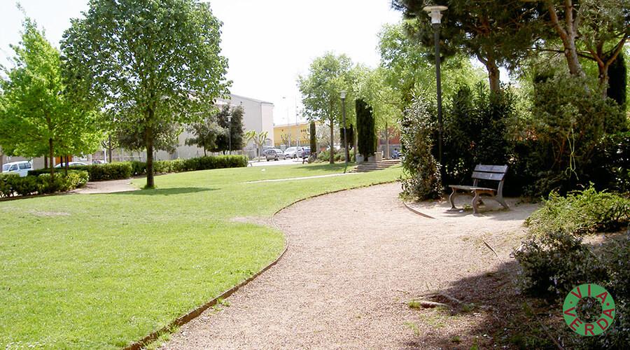 Ajuntament Maçanet de la Selva. Urbanització zona verda Can Cinto