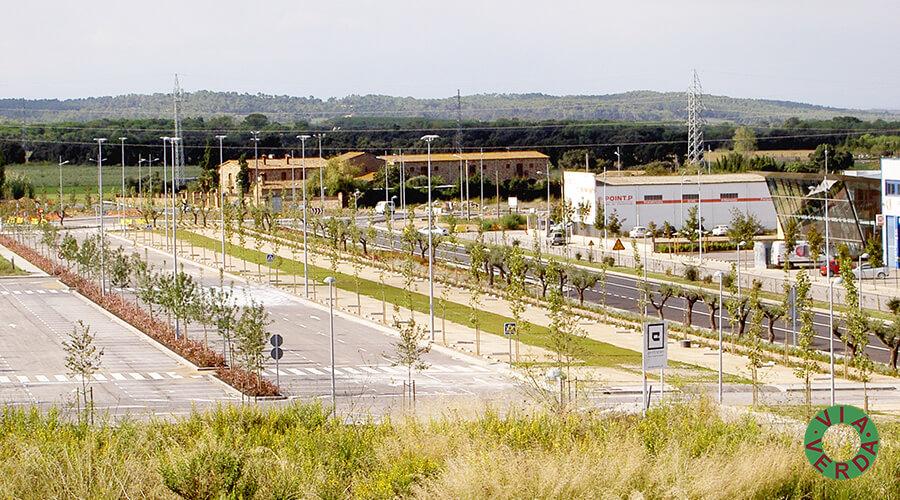 Espais Verds La Fanga. Jardinedia, urbanització, reg