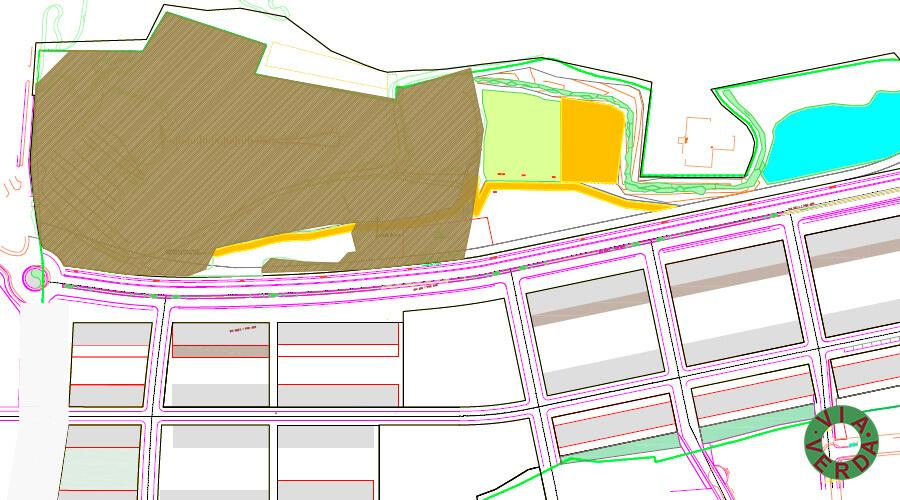 Espais Verds Coll Morera. Zona Residencial. Jardineria, reg, urbanització