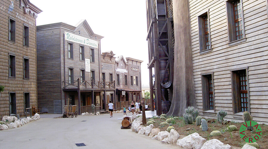 Port Aventura. Complex Hoteler Far West